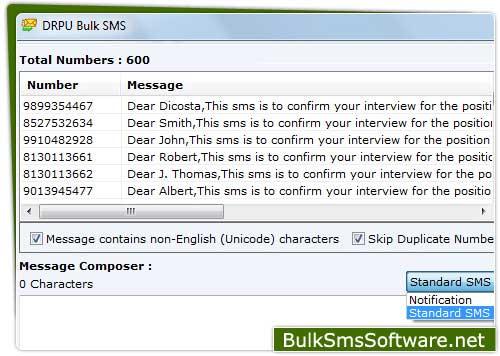 Send SMS Text Messages screenshot