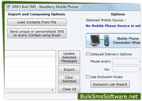 Bulk SMS BlackBerry