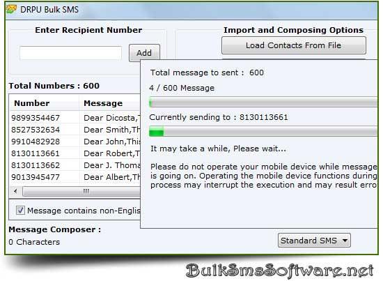 Bulk SMS GSM