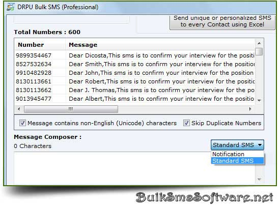 Windows 7 Bulk SMS Software 8.2.1.0 full